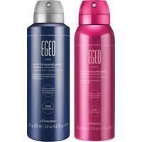 Combo Egeo Desodorante: Desodorante Aerosol Blue + Desodorante Aerosol Dolce