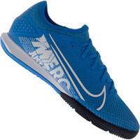 Chuteira Futsal Nike Mercurial Vapor 13 Pro Ic - Adulto - Azul Cla/Branco