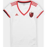 Netshoes  Camisa Flamengo Ii 2018 S N° - Torcedor Adidas Feminina - Feminino 788cab0f76b7e