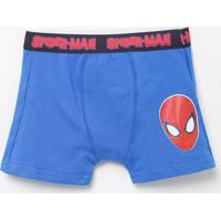 Cueca Boxer Infantil Homem Aranha - Tam 2 A 10