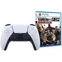 Controle Sem Fio Ps5 Dualsense + Jogo Tom Clancy'S Rainbow Six Siege Edição Deluxe Ps5