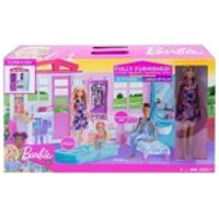 Barbie Real Casa Glam C/ Boneca Fxg55 (076595)