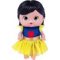 Boneca Lilcutesies Princesas Disney Branca De Neve- Cotiplás