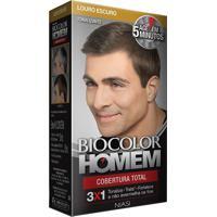 Biocolor Homem Loção Louro Escuro Kit