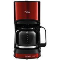 Cafeteira Elétrica Philco Inox Red Pcf41, 30 Xícaras, 800W, 110V, Vermelho/Inox - 53901050