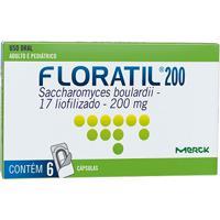 Floratil Adulto 200Mg Natulab 6 Cápsulas