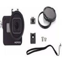 Frame Case Protecao Aluminio + Lente Uv Gopro Hero 6 Black - Imp. Hero 6