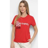 Blusa Calvin Klein Estampada Feminina - Feminino