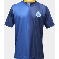 Camisa Cruzeiro 2007 Masculina - Masculino-Azul