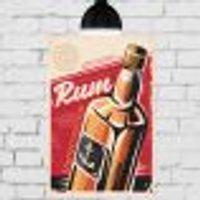Placa Decorativa Mdf Rum 30X40