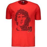 Camiseta Flamengo Zico Boss Braziline Masculina - Masculino
