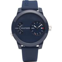 Relógio Tommy Hilfiger Masculino Borracha Azul - 1791556