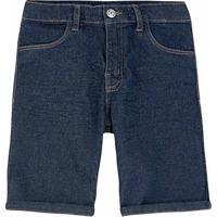 Bermuda Jeans Infantil Hering Kids Masculina - Masculino-Azul Claro