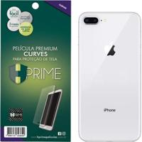 Película Protetora Traseira Curves Hprime Para Apple Iphone 8 Plus Transparente