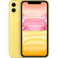 "Iphone 11 Apple Amarelo 64Gb Tela Liquid Retina Hd 6.1"" Câmera Dupla"
