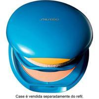 Refil - Uv Protective Compact Foundation Fps35 Shiseido - Base Facial Medium Beige - Sp60 - Feminino-Incolor