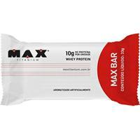 Barra Protéica Max Bar 33G - Max Titanium - Coco Com Granulado - Unissex