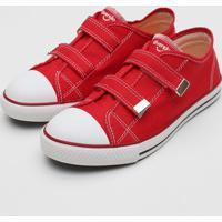 Tênis Diversão Infantil Canvas Vermelho