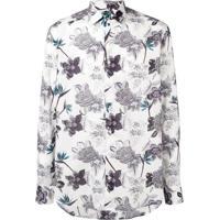 Etro Floral Print Shirt - Branco