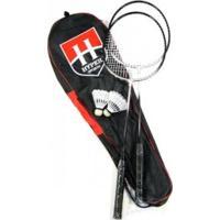 Kit Badminton Hyper Sports 2 Raquetes - Hyper