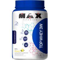 Top Whey 3W + Performance Max Titanium - Baunilha - 900G