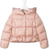 Moncler Kids Cayolle Coat - Rosa