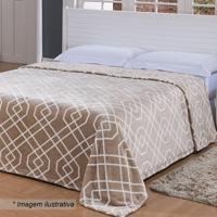 Cobertor De Microfibra Toque De Seda Super King Size- Maniazitex