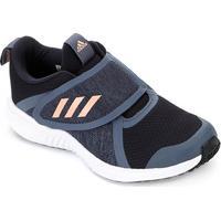 Tênis Infantil Adidas Fortarun X Cf K Velcro - Unissex-Marinho