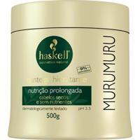 Haskell Mururmuru - Manteiga Hidratante 500G - Unissex-Incolor