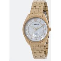 Kit Relógio Feminino Lince Lrgh075L Kv19B1Kx Analógico 5Atm