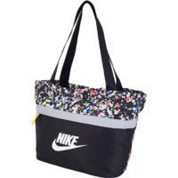 Bolsa Nike Tanjun Tote Aop - Feminina - 19 Litros - Preto/Branco
