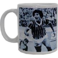 Caneca Cerâmica Grêmio 1983 Universo Da Bola - Unissex-Preto+Branco