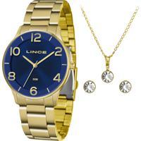 Relógio Lince Feminino Lrg4603L Kw24D2Kx Dourado