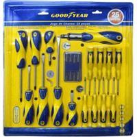 Kit Ferramentas Goodyear Gy-Tk-900550 - 25 Peças