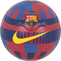 Bola De Futebol De Campo Barcelona Prestige Nike - Vermelho Azul 8835ec63803f0