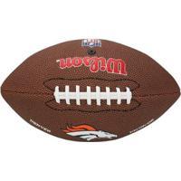 Bola De Futebol Americano Wilson Denver Broncos Nfl - Unissex