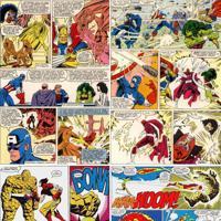 Papel De Parede Adesivo Quadrinhos Marvel
