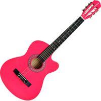 Violão Acústico Cutway 6 Cordas Pink Aubvo626B Auburn