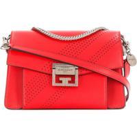 Givenchy Bolsa Trespassada 'Gv3' Pequena - Vermelho
