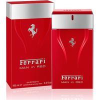 Perfume Cavallino Man In Red Masculino Eau De Toillete- Ferrari