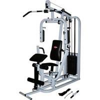 Estação De Musculação Kenkorp Emk 1500R Com 27 Opções De Exercícios - Branco/ Preto