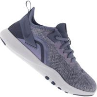 Tênis Nike Flex Trainer 9 - Feminino - Cinza/Roxo