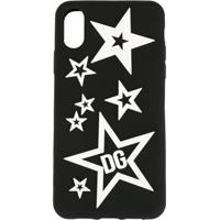 Dolce & Gabbana Mixed Star Iphone Xr Case - Preto