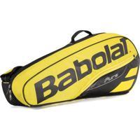 Raqueteira De Tenis Pure Aero Rafael Nadal Babolat X3 Amarelo
