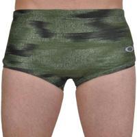 Sunga Oakley O-Camo Swim Trunk Masculina - Masculino-Verde