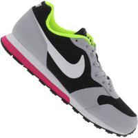 Tênis Nike Md Runner 2 - Infantil - Preto/Cinza Claro