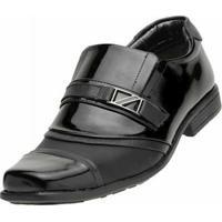 Sapato Social Venetto Infantil - Masculino-Preto