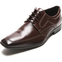 Sapato Social Mariner Cadarço Marrom