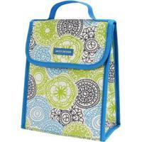 Bolsa Térmica Jacki Design De Poliéster + Folha De Alumínio - Feminino-Azul