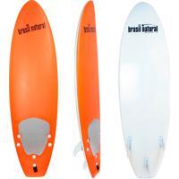Prancha De Surf 5.8 Mini Fun Brasil Natural Laranja/Branco